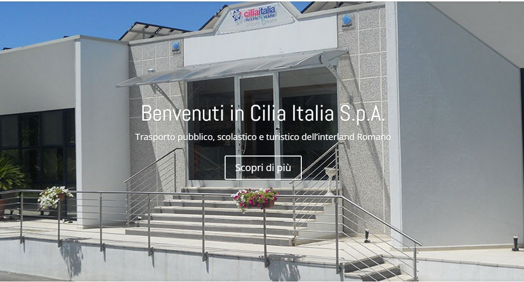 Nuovo sito web per Cilia Italia