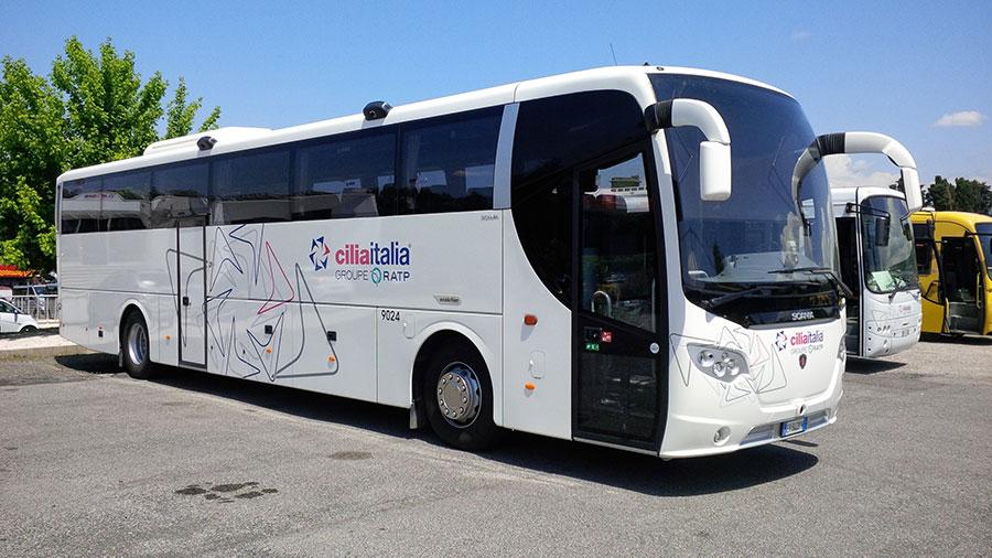 Servizio Gran Turismo noleggo pullman e minibus a Roma